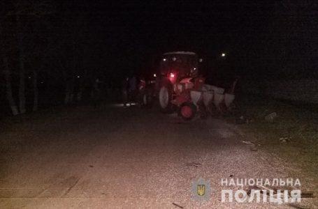 Смертельна ДТП на Миколаївщині: трактор зіткнувся з BMW