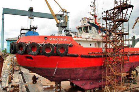 У Миколаєві завершується ремонт крупного буксиру