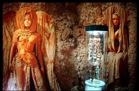 На Миколаївщині в заповіднику «Ольвія» відкрилася виставка в техніці геліографіті