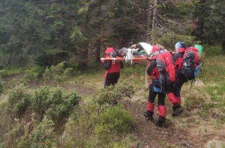 У Карпатах блискавка вбила туриста