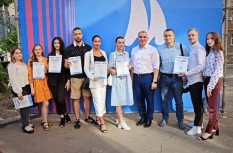 У Миколаївській мерії відбувся урочистий прийом активної молоді