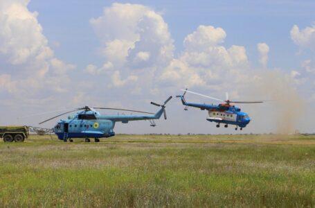 На Миколаївщині відбулися масштабні навчання морської авіації
