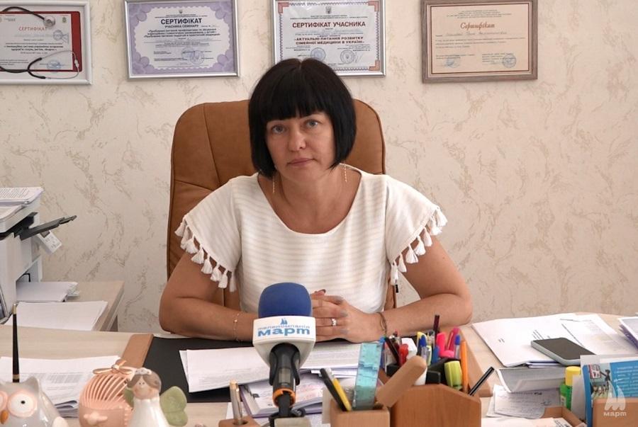 Ірина Шамрай закликала проходити медичний догляд перед навчальним роком