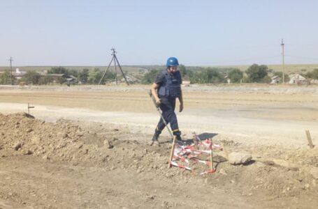 У Вітовському районі під час ремонту дороги виявили артснаряд