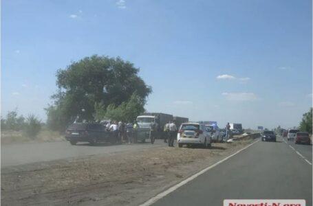 Під Миколаєвом сталася ДТП за участю дев'яти автомобілів, є потерпілі