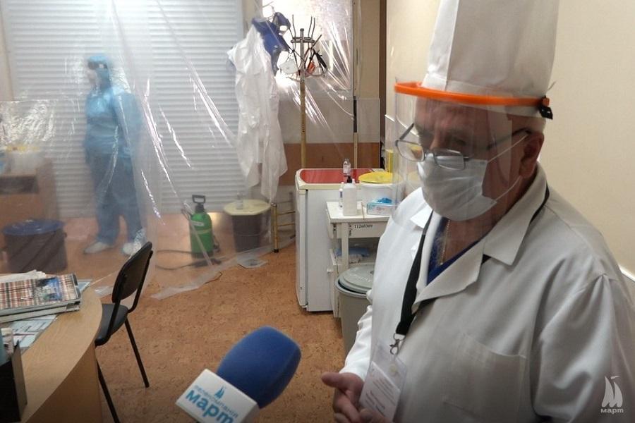 Ексклюзивні кадри: Лікування хворих на COVID-19 у Міській лікарні № 1
