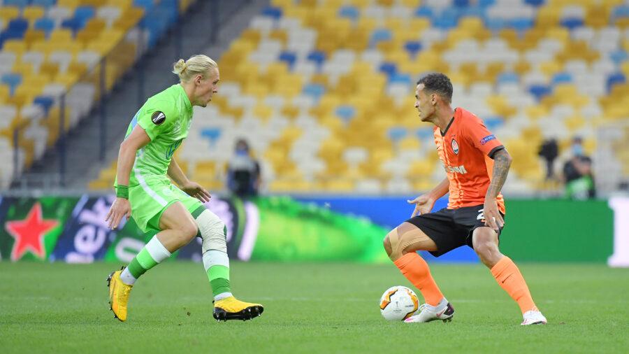 Шахтар розгромив Вольфсбург та вийшов у 1/4 фіналу Ліги Європи
