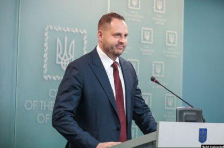 Керівник Офісу президента Єрмак захворів на коронавірус