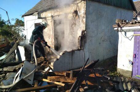 На Миколаївщині під час пожежі вибухнув газовий балон