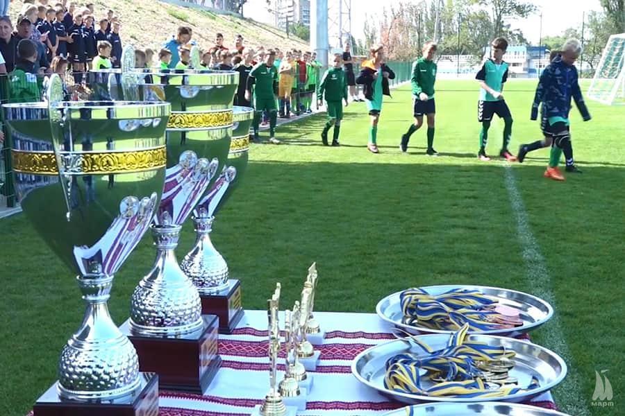 У Миколаєві стартував дитячий турнір з футболу