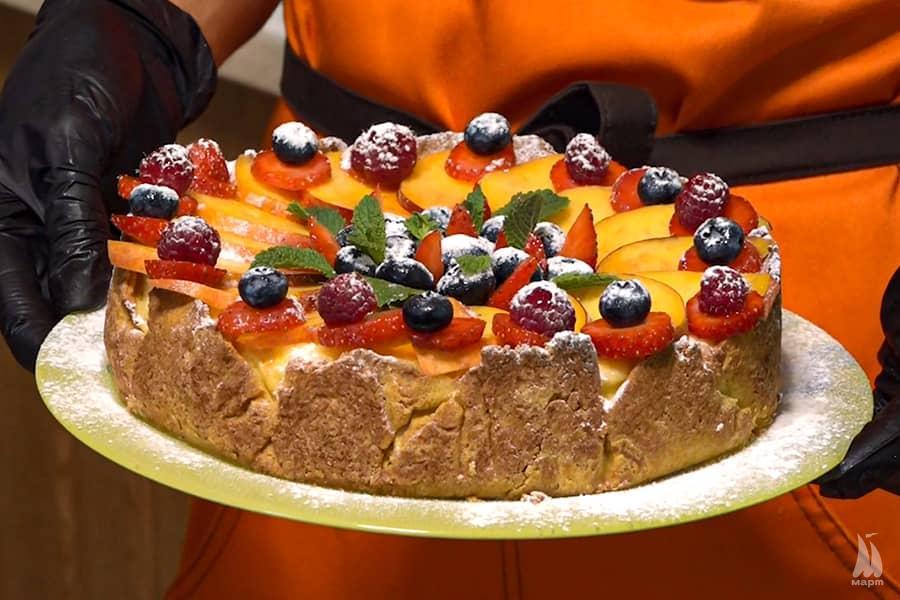 Меровий торт: поєднання смаку та поживних властивостей