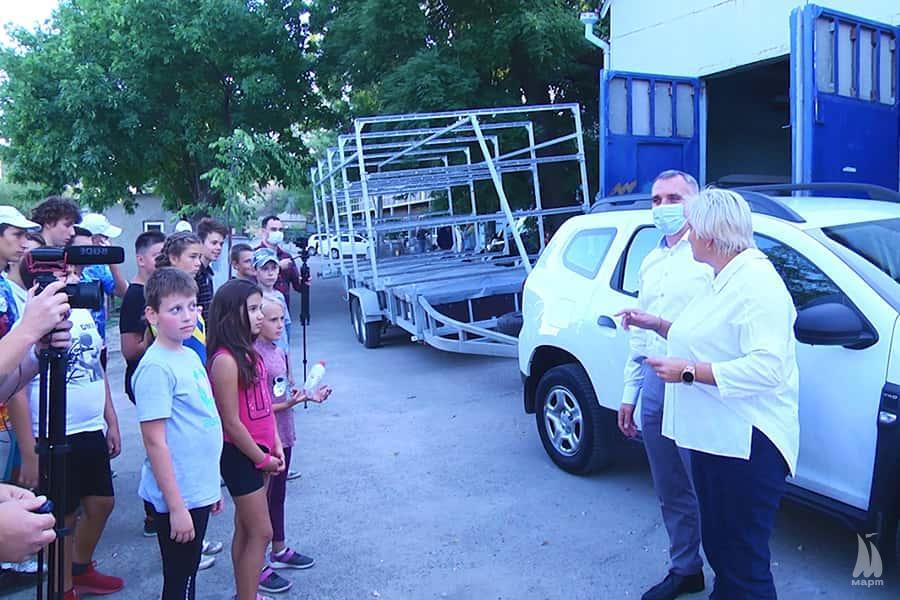 У Миколаєві придбали нові човни та автомобіль для спортшколи з академічного веслування