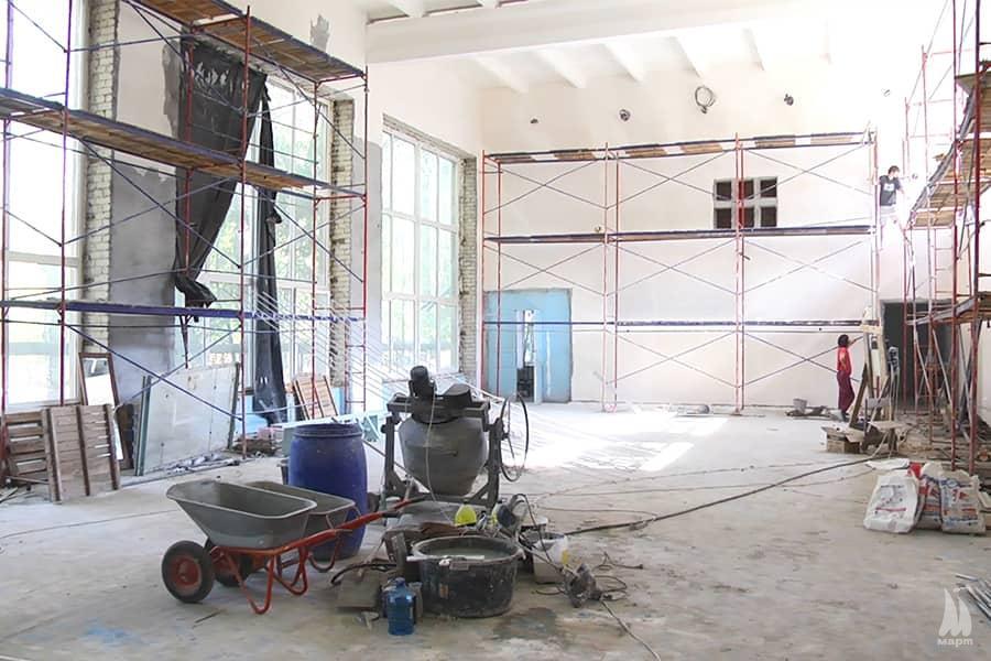 У ЗОШ № 20 розпочали капітальний ремонт спортзалу