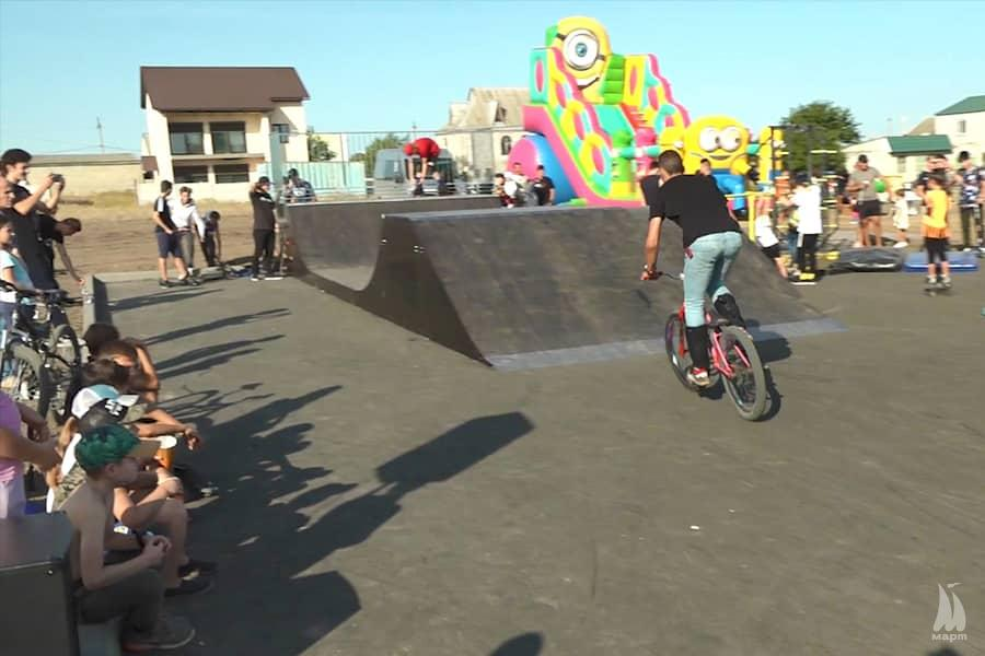 Проєкт-переможець Громадського бюджету: скейт-майданчик «Drive» відкрили у Тернівці