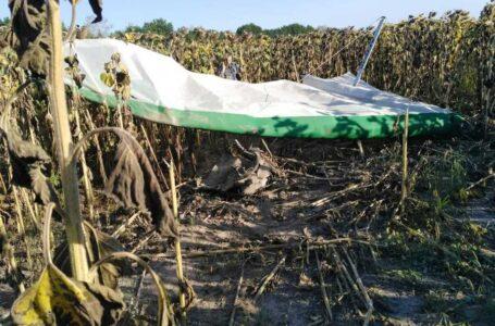 На Житомирщині впав дельтаплан – пілот загинув на місці