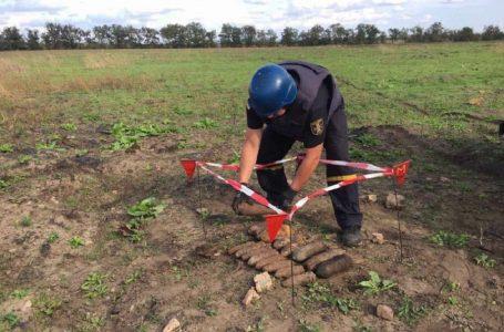 Миколаївські рятувальники знешкодили майже три десятки снарядів часів Другої світової війни