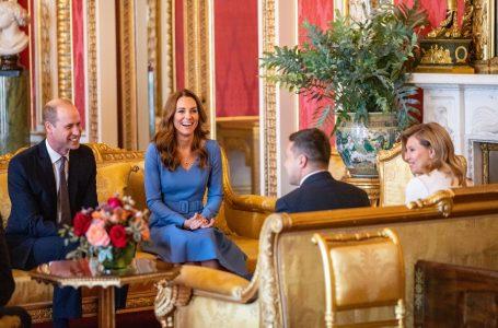 Президент та перша леді зустрілися з принцом Вільямом і Кейт Міддлтон у Букінгемському палаці