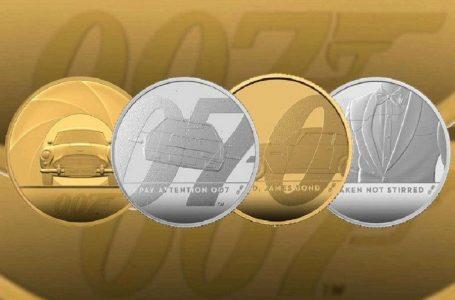 У Британії випустили пам'ятні монети на честь Джеймса Бонда