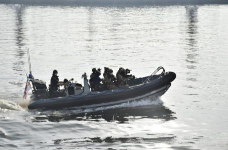 Очаківські «морські котики» провели спільні з Великобританією військові навчання