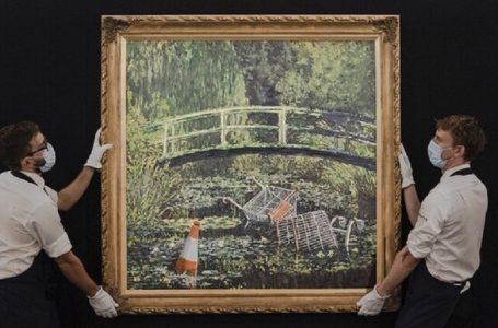 У Лондоні продали картину Бенксі за $ 10 млн