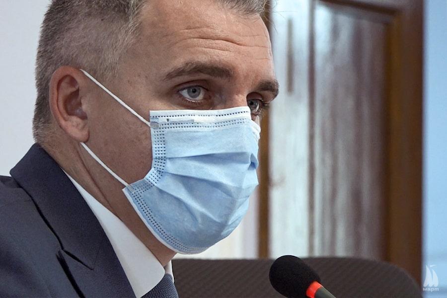 Олександр Сєнкевич захворів на COVID-19