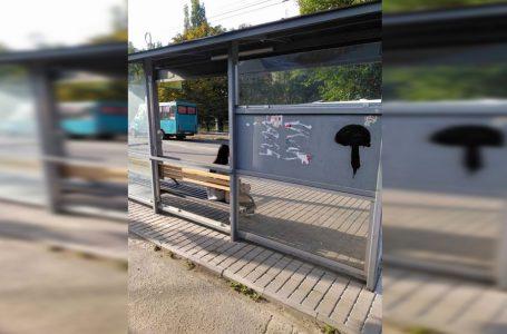 У Заводському районі вандали розбили дві зупинки