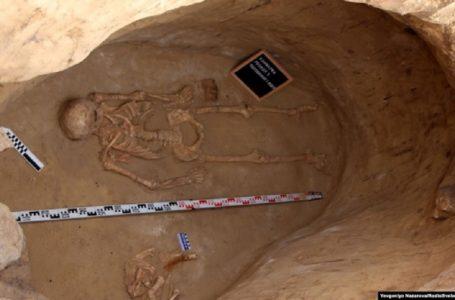 На Хортиці знайшли вцілілу гробницю скіфського воїна, якій 2,5 тисячі років