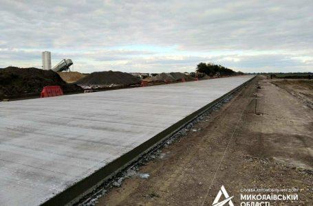 «Укравтодор» закінчив будівництво бетонної дороги «Миколаїв – Кропивницький»