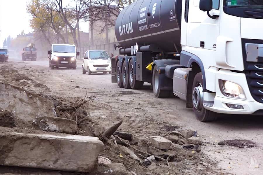 У Миколаєві триває капітальний ремонт вулиці Новозаводської