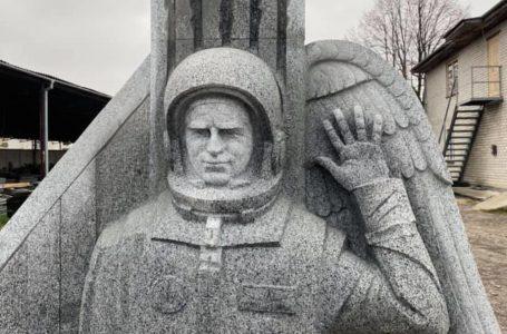 На Житомирщині створили пам'ятник космонавту Леоніду Каденюку