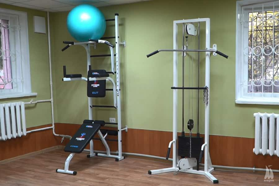 У Миколаєві відремонтували приміщення фізкультурно-оздоровчого клубу «Вікторія»